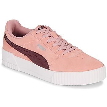 Zapatos Mujer Zapatillas bajas Puma CARINA Rosa