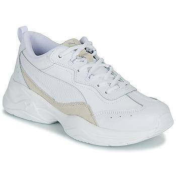 Zapatos Mujer Zapatillas bajas Puma WNS CILIA LUX B Blanco