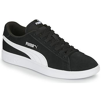 Zapatos Hombre Zapatillas bajas Puma SMASH Negro