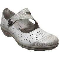 Zapatos Mujer Bailarinas-manoletinas Romika Westland Cassie 55 Cuero crudo