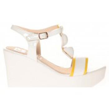 Zapatos Mujer Sandalias Cassis Côte d'Azur Sandales Orso Blanc Blanco