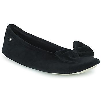 Zapatos Mujer Pantuflas Isotoner 95810 Negro