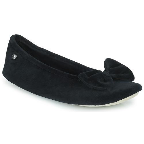 Isotoner 95810 Negro - Envío gratis | ! - Zapatos Pantuflas Mujer