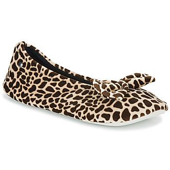 Zapatos Mujer Pantuflas Isotoner 95991 Marrón