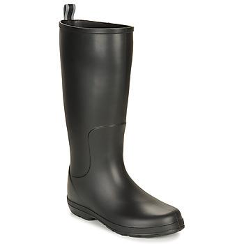 Zapatos Hombre Botas de agua Isotoner 96523 Negro