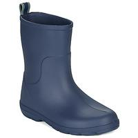 Zapatos Niños Botas de agua Isotoner 99219 Marino
