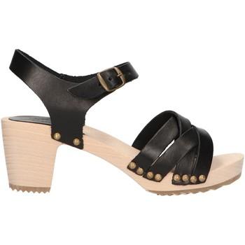 Zapatos Mujer Sandalias Kickers 694340-50 SATINE Negro