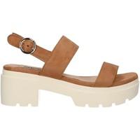 Zapatos Mujer Sandalias MTNG 50599 Marr?n