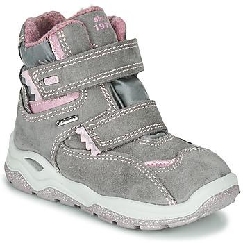 Zapatos Niña Botas de caña baja Primigi WICK GORE-TEX Gris / Rosa