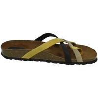 Zapatos Mujer Sandalias Interbios Sandalias de dedo Amarillo