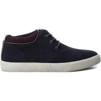 Zapatos Hombre Zapatillas bajas B3D 40218 SERRAJE COMBINADO NAVY Azul marino