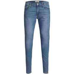 textil Hombre Vaqueros slim Jack & Jones 12148909 JJITOM JJORIGINAL AM 815 STS Azul