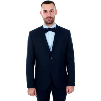 textil Hombre Chaquetas / Americana Jack & Jones 12141107 JPRSOLARIS BLAZER NOOS DARK NAVY Azul marino