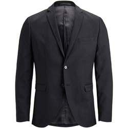 textil Hombre Chaquetas / Americana Jack & Jones 12141107 JPRSOLARIS BLAZER NOOS BLACK Negro
