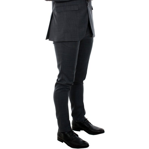 Jack & Jones 12141112 Jprsolaris Trouser Noos Dark Grey Gris - Textil Pantalón De Traje Hombre 4199 estilo de moda