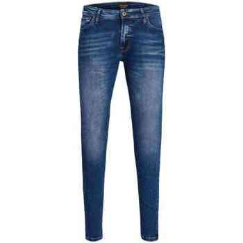 textil Hombre Vaqueros slim Jack & Jones 12144207 JJITOM JJORIGINAL JOS 510 50SPS NOOS Azul