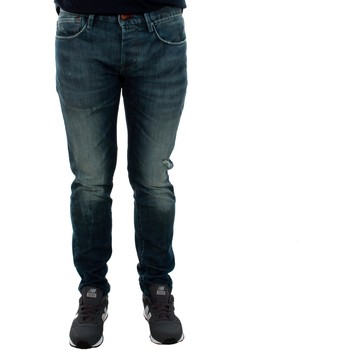 textil Hombre vaqueros slim Pepe jeans PM200823CF12 HATCH Azul