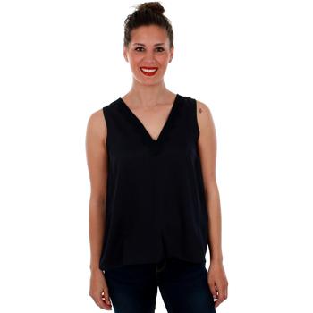 textil Mujer Tops / Blusas Vero Moda 10212237 VMTUVA SL TOP WVN NIGHT SKY Azul marino