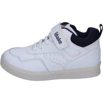 Zapatos Niño Zapatillas altas Blaike sneakers cuero sintético blanco