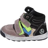 Zapatos Niño Botas de caña baja Mkids sneakers gamuza beige