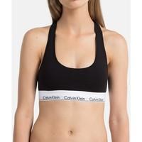 Ropa interior Mujer Triángulo/Sin Aros Calvin Klein Jeans Top  Modern Cotton Negro