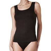 Ropa interior Mujer Camiseta interior Janira Camiseta  Spa-Modal S/M 1072205 Negro