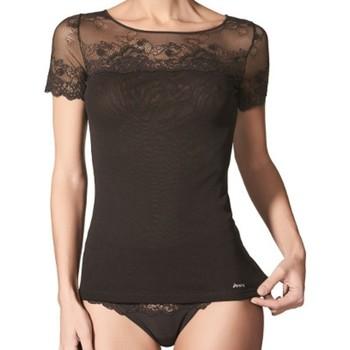 Ropa interior Mujer Camiseta interior Janira Camiseta Greta 1045104  Mujer Negro