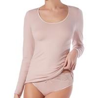 Ropa interior Mujer Camiseta interior Janira Camiseta  Naturly 1045290 Manga Larga Blanco