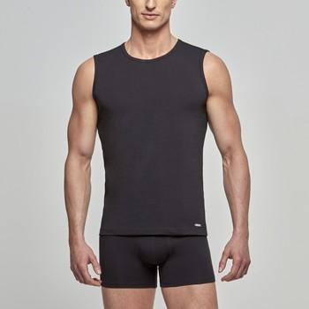 Ropa interior Hombre Camiseta interior Impetus Camiseta  Cotton Stretch Sin Mangas Negro