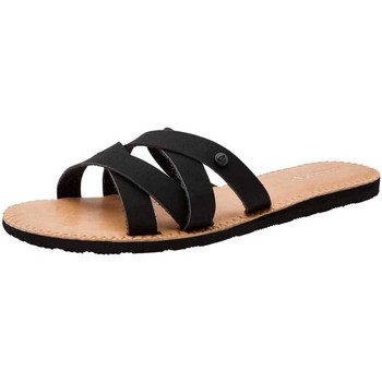 Zapatos Mujer Chanclas Volcom Garden Party Sndl Black