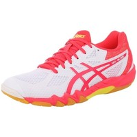 Zapatos Mujer Running / trail Asics Gelblade 7 100 Womens Blanco, Rosa