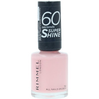 Belleza Mujer Esmalte para uñas Rimmel London 60 Seconds Super Shine 722-all Nails On Deck  8 m