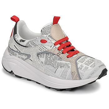 Zapatos Hombre Zapatillas bajas John Galliano 8516 Gris