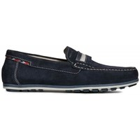 Zapatos Hombre Mocasín Geox U Mirvin A Azul azul