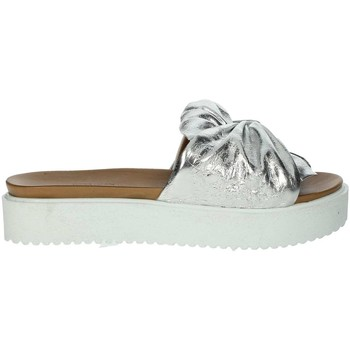 Zapatos Mujer Zuecos (Mules) Donna Style 19-281 Plata