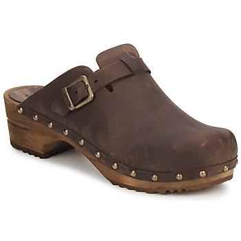 Zapatos Mujer Zuecos (Clogs) Sanita KRISTEL OPEN Marrón