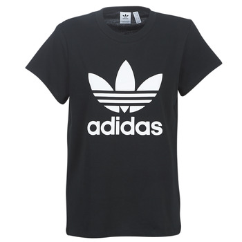 textil Mujer camisetas manga corta adidas Originals BOYFRIEND TEE Negro
