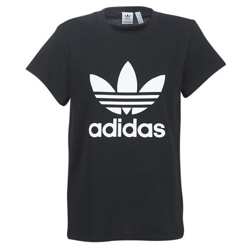 adidas Originals BOYFRIEND TEE Negro - Envío gratis | ! - textil camisetas manga corta Mujer