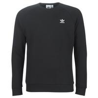 textil Hombre sudaderas adidas Originals ESSENTIAL CREW Negro