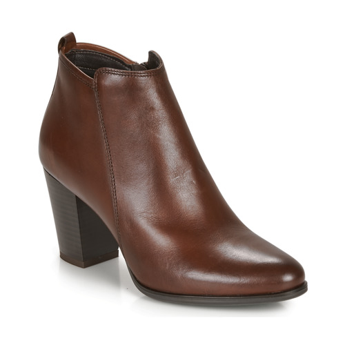 André MAGDA Marrón - Envío gratis | ! - Zapatos Botines Mujer