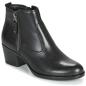 Zapatos Mujer Botines André MADRID Negro
