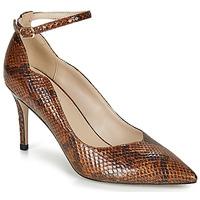 Zapato de tacón mujer marron Envío gratis | Spartoo.es !