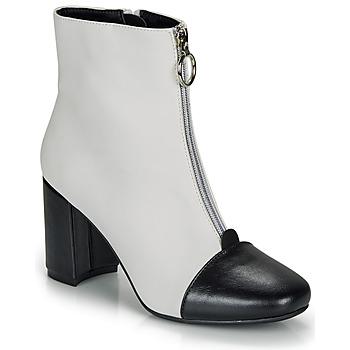 Zapatos Mujer Botines André LAOSA Blanco