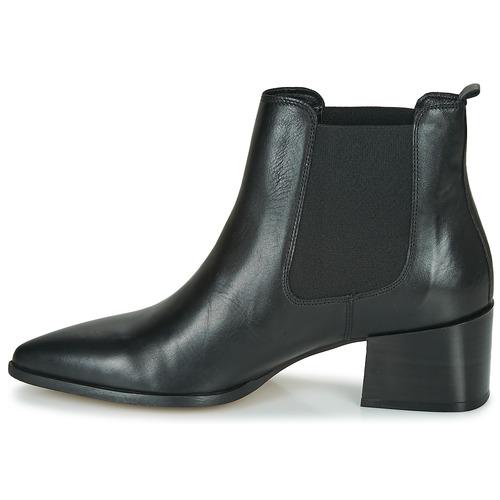 Caña André Negro Botas Baja Zapatos De Ninou Mujer EHI29WD