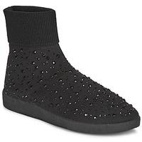 Zapatos Mujer Zapatillas altas André BAYA Negro