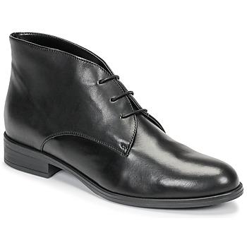 Zapatos Mujer Botas de caña baja André EMILIE Negro