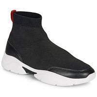 Zapatos Mujer Zapatillas altas André BELLA Negro