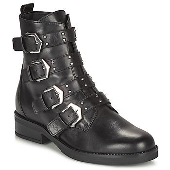 Zapatos Mujer Botas de caña baja André NARCISSE Negro