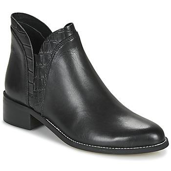 Zapatos Mujer Botas de caña baja André NATHO Negro