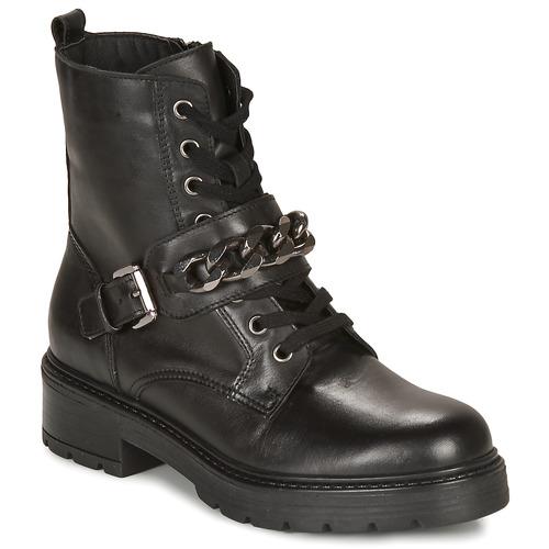 Zapatos Mujer Botas de caña baja André NALA Negro